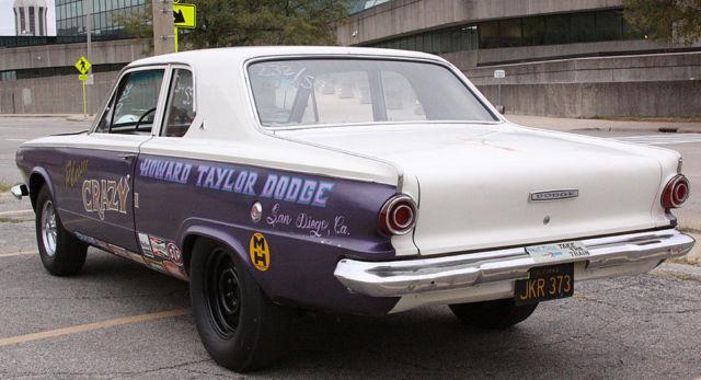 1964 Dodge Dart Nostalgia Drag Car Survivor Rust Free Ca
