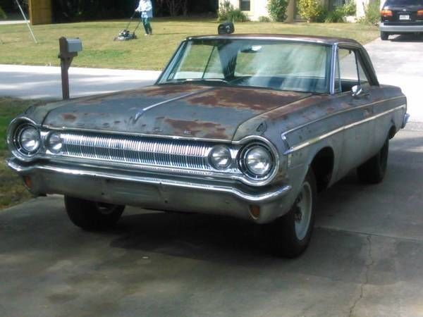1964 Dodge Polara 440 Big Block 727 Pushbutton Daily Driver Structurally Done Classic Dodge
