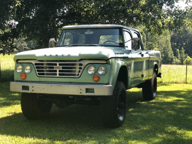 1964 Dodge Power Wagon Crew Cab 4x4 5.9 Cummins 6BT diesel •RARE• - Classic Dodge Power Wagon ...
