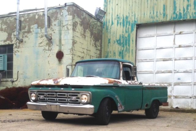 1964 F100 / CROWN VIC - Classic Ford F-100 1964 for sale