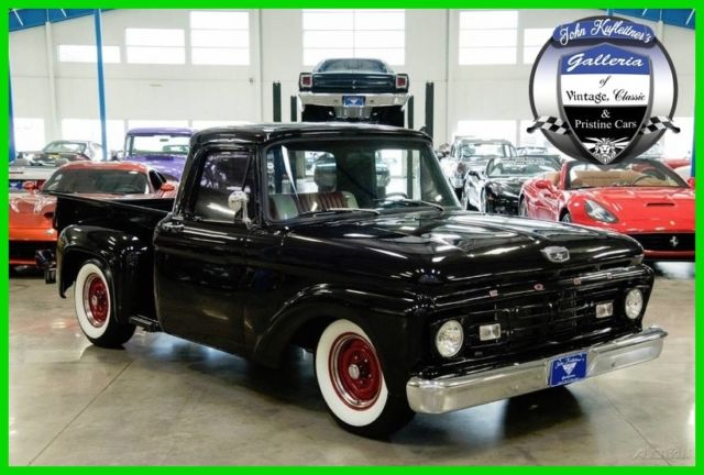 1964 ford f 100 stepside 302 ci v8 c4 automatic f100 restored 64 65 classic ford f 100 1964. Black Bedroom Furniture Sets. Home Design Ideas
