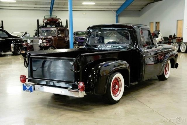 1964 ford f 100 stepside 302 ci v8 c4 automatic f100 restored 64 65 classic ford f 100 1964. Black Bedroom Furniture Sets. Home Design Ideas