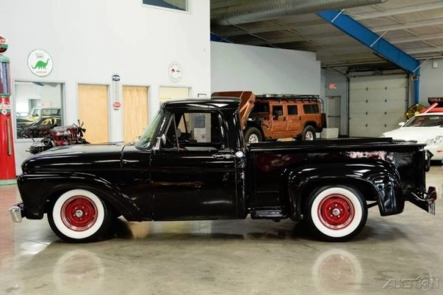 1964 ford f 100 stepside 351 v8 c4 automatic 64 f100 restored classic ford f 100 1964 for sale. Black Bedroom Furniture Sets. Home Design Ideas