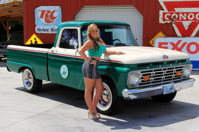 1964 Ford F100 Pick Up 312 V8 3 Speed Manual Great Driver