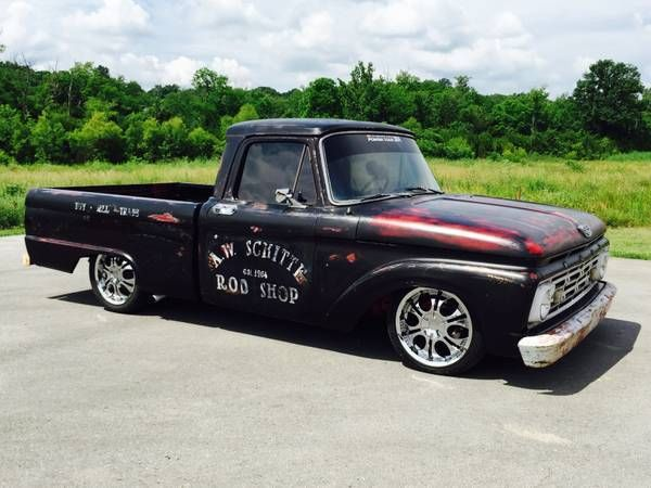 1964 ford f100 pickup rat rod truck classic ford f 100 1964 for sale. Black Bedroom Furniture Sets. Home Design Ideas