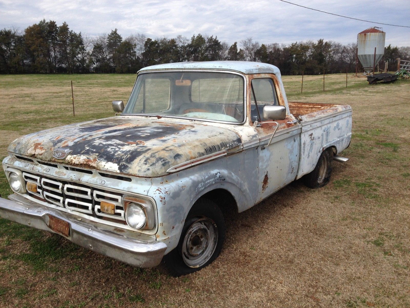 1964 Ford F100 Shortbed Shop Truck Or Restore Classic F Pickup 100