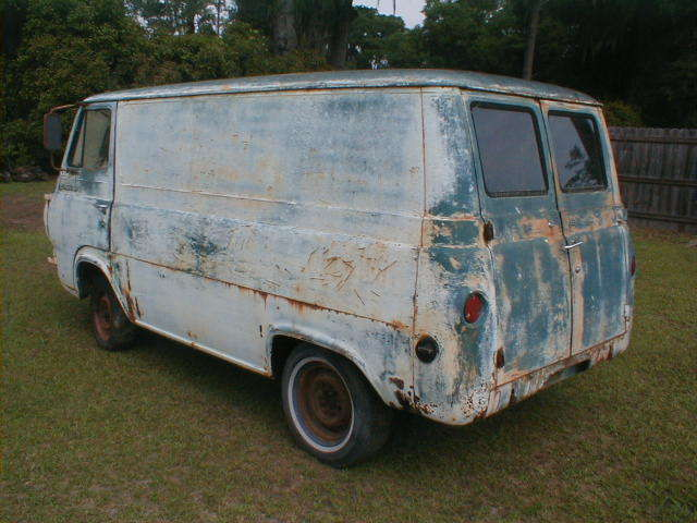 1964 ford falcon econoline panel van rat rod or mystery machine project 64 classic ford falcon. Black Bedroom Furniture Sets. Home Design Ideas