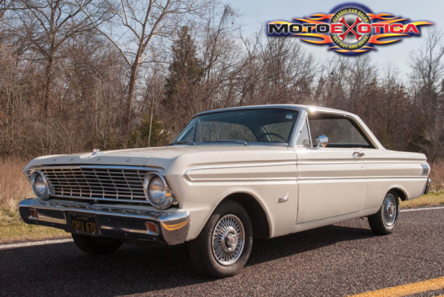 Ford Falcon Futurablack Plate California Car Futura Trim Package on 1964 Ford Falcon Futura Motoexotica Classic Car Sales