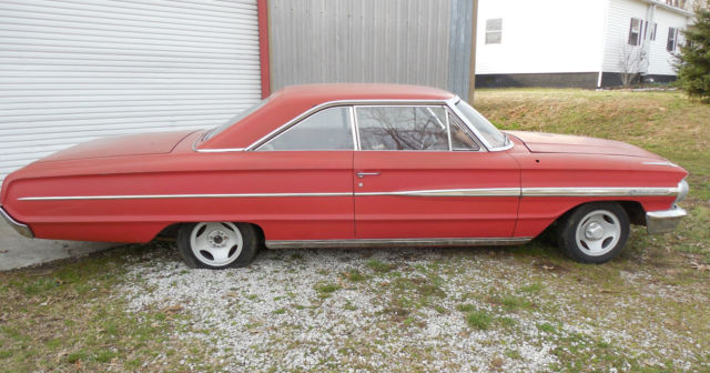 1964 ford galaxie 500 2 door fastback barn find project antique collectable classic ford. Black Bedroom Furniture Sets. Home Design Ideas