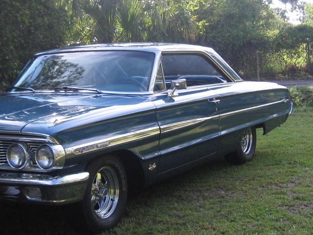 1964 Ford Galaxie XL with 428 engine and 4 speed transmission