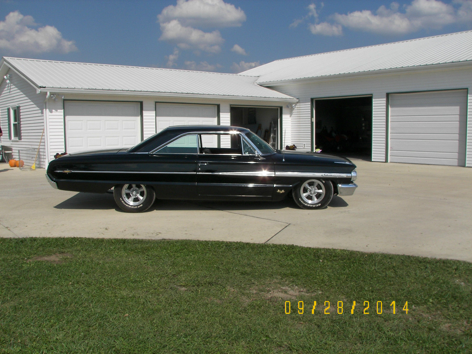 1964 galaxie 500 xl 427 4spd no reserve classic ford galaxie 1964 for sale. Black Bedroom Furniture Sets. Home Design Ideas