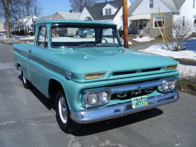 1964 gmc 1 2 ton short bed custom farm truck or hot rod chevy texas truck classic gmc. Black Bedroom Furniture Sets. Home Design Ideas