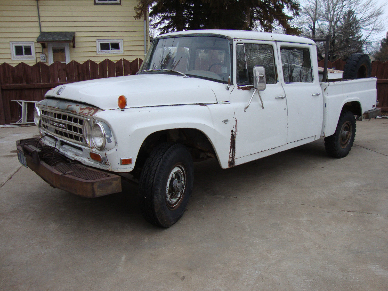 Travelette For Sale >> 1964 IH INTERNATIONAL HARVESTER C1200 3/4 TON ALL WHEEL DRIVE TRAVELETTE CREWCAB - Classic ...