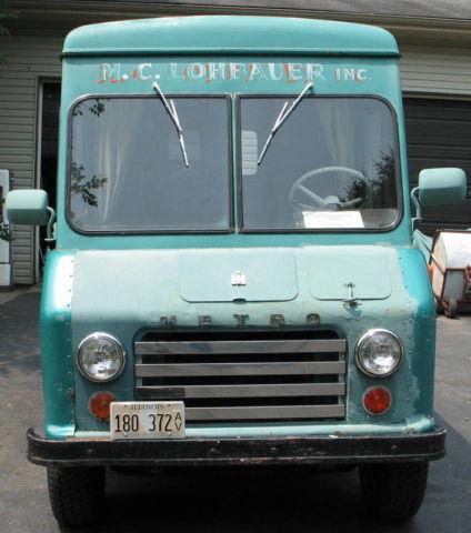 1964 International Harvester Ih Quot Metro Step Van