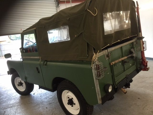 1964 Land Rover Series Iia Pre Defender