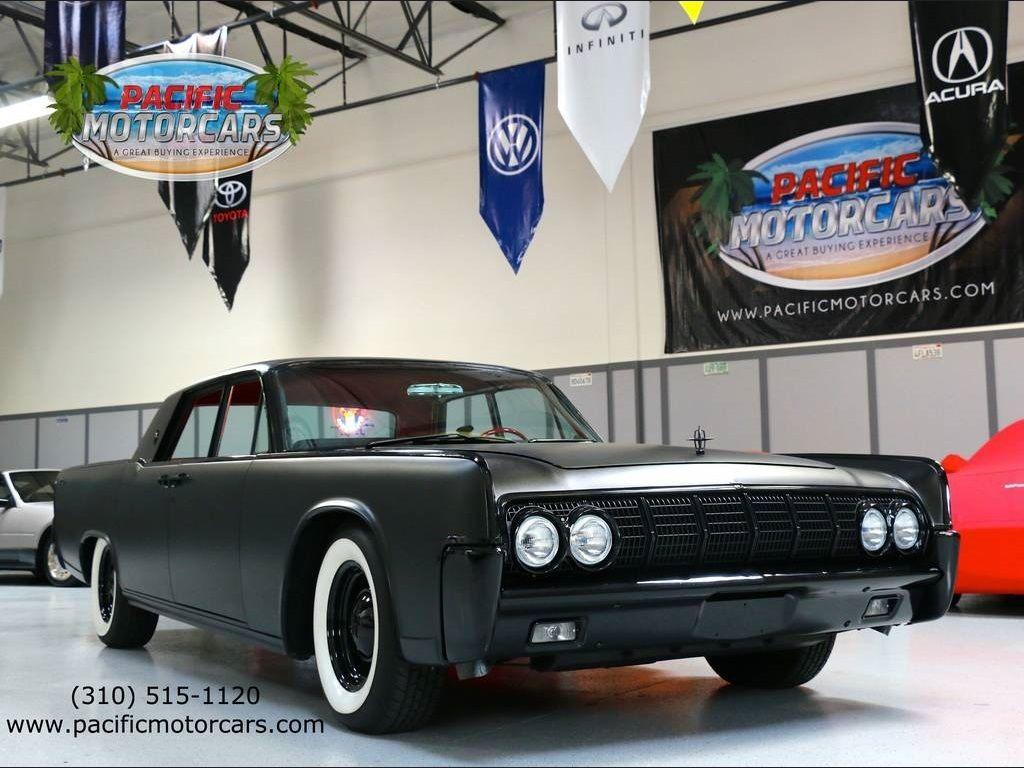 1964 lincoln continental automatic 4 door sedan custom classic lincoln c. Black Bedroom Furniture Sets. Home Design Ideas