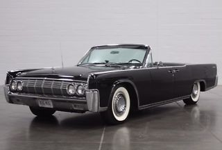 1964 Lincoln Continental Convertible Suicide Doors Rare Celebrity