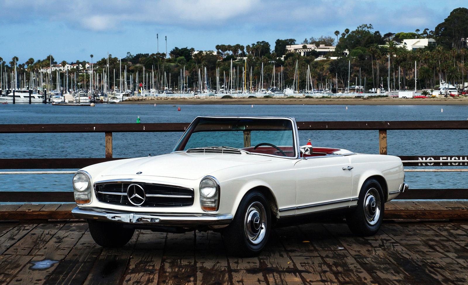 1964 mercedes benz 230sl original 4 spd ca example orig for Mercedes benz 230 sl