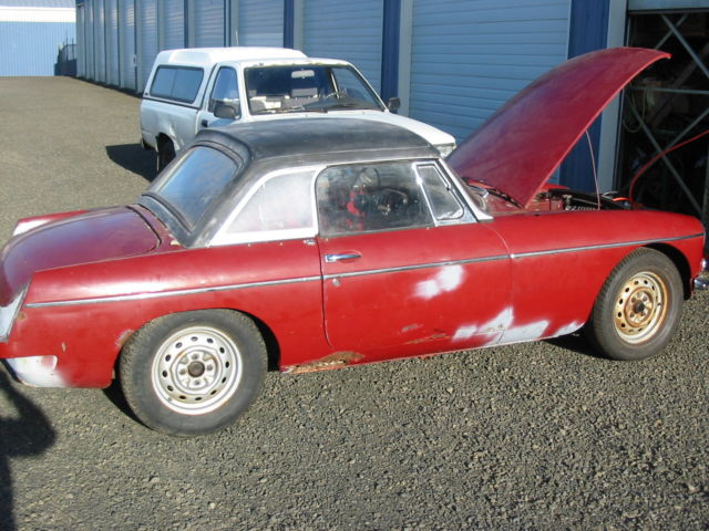 Used Car Value By Vin >> 1964 MGB Roadster with Factory hardtop, extra motor ...