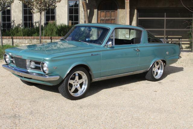 1964 Plymouth Barracuda Fastback Resto Mod Classic