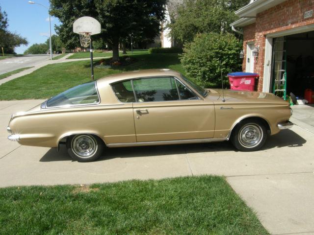 1964 Plymouth Barracuda Survivor - Classic Plymouth Barracuda 1964