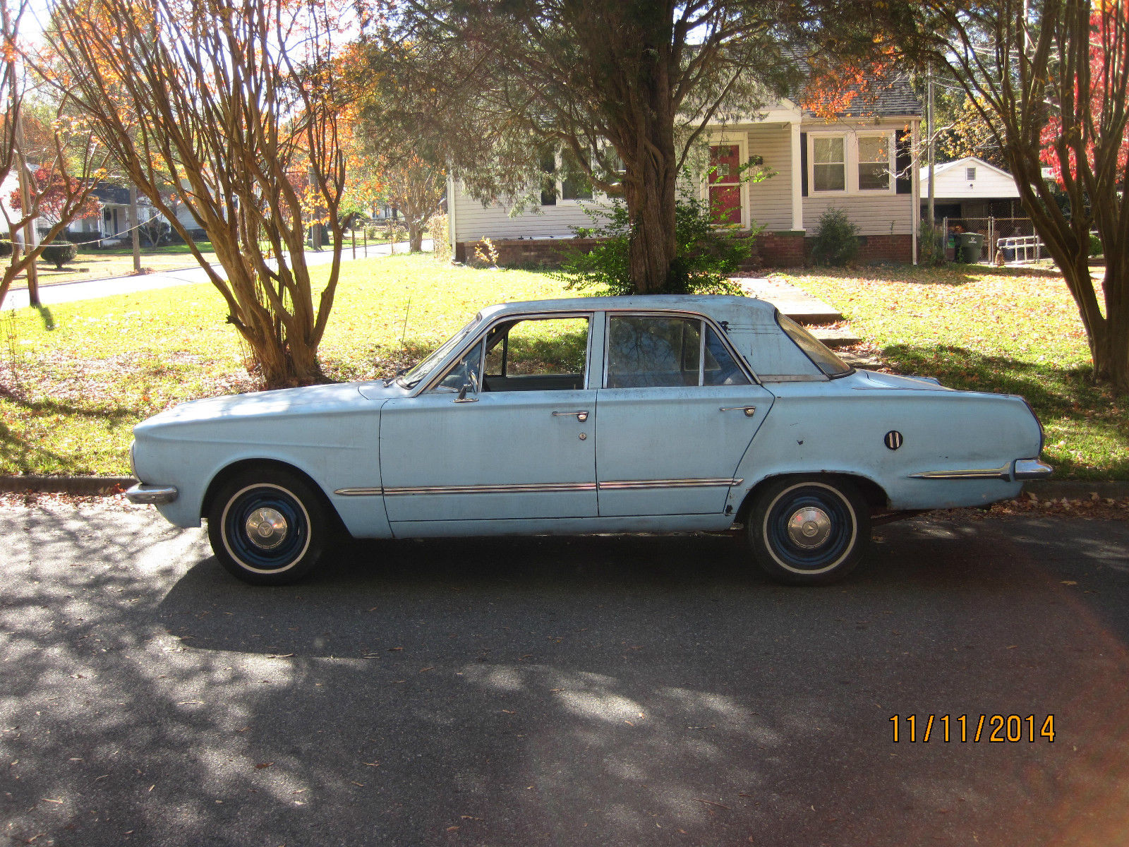 1964 Plymouth Valiant Automatic With Push Button Transmission Dodge Police Car Other