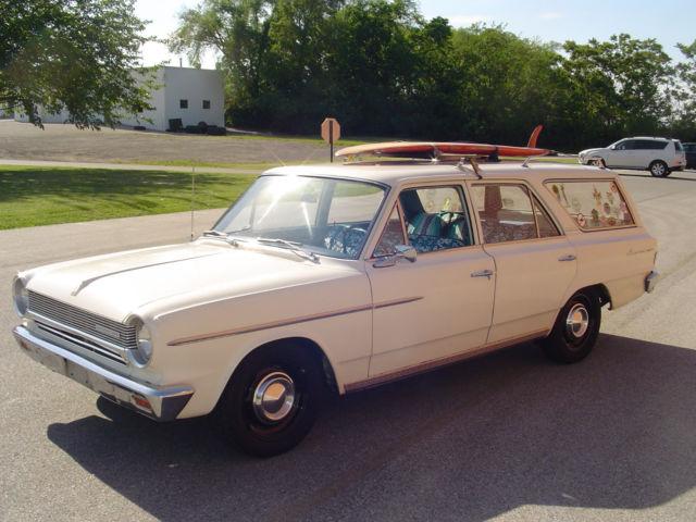 1964 rambler american 300 station wagon barn find. Black Bedroom Furniture Sets. Home Design Ideas