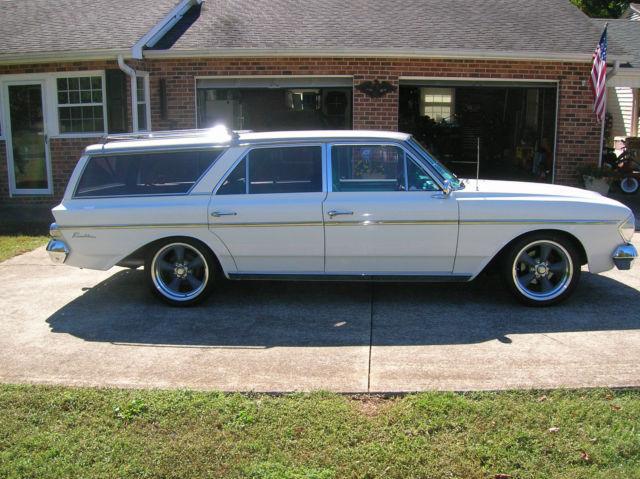 1964 rambler station wagon hot rod classic amc other. Black Bedroom Furniture Sets. Home Design Ideas