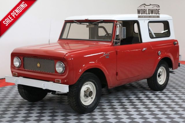 1964 International Harvester Scout 4x4 Convertible Top New Paint Must See