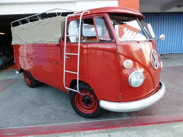 1964 Restored QuotRarequot VW SC PICKUP CALIFORNIA BEACH CRUISER  Class