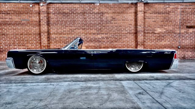 1964 Triple Black Coyote Lincoln Continental Convertible