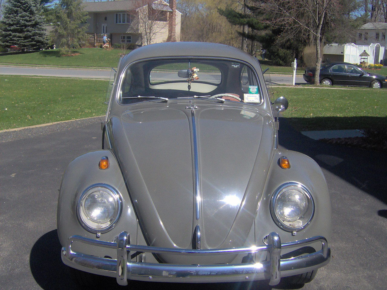 1964 vw beetle original never restored classic. Black Bedroom Furniture Sets. Home Design Ideas