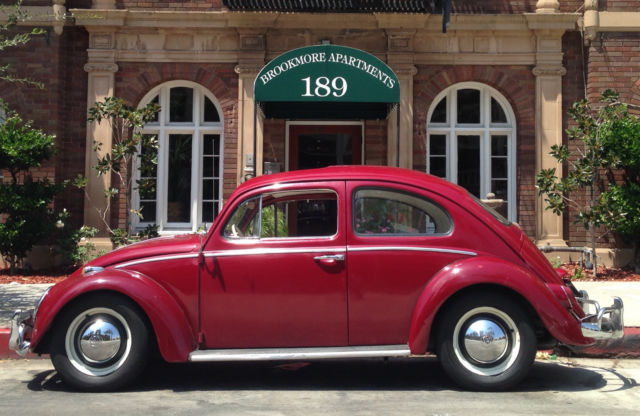 1964 VW Bug with rare Metal Sun Roof @LOOK@ - Classic