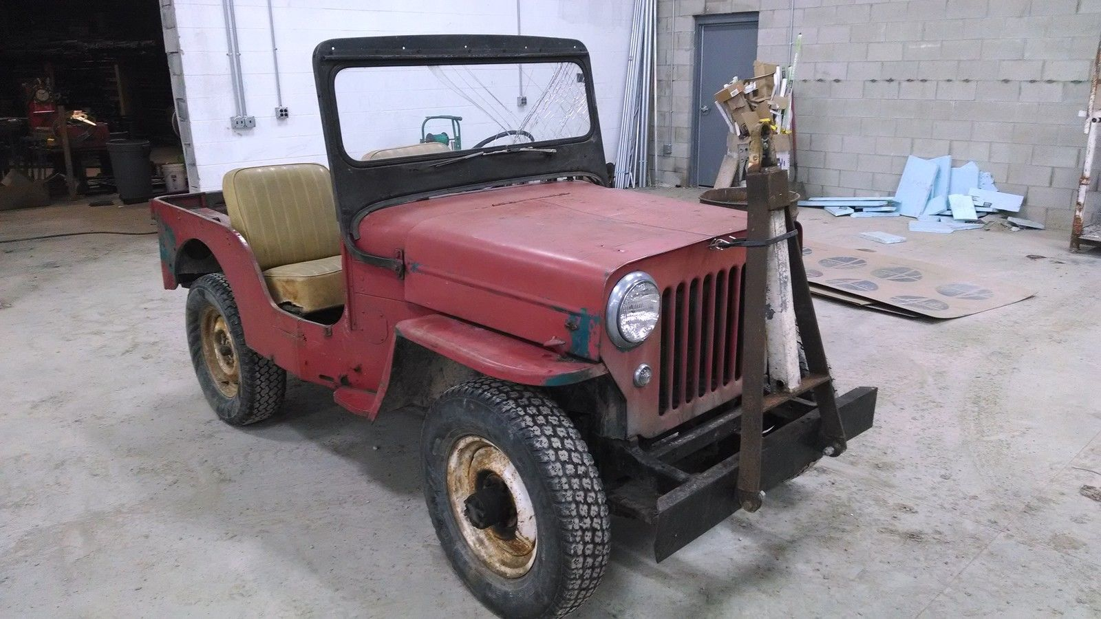 1964 willys cj3b jeep 3 spd 4wd oklahoma jeep all original rare classic jeep cj 1964 for sale. Black Bedroom Furniture Sets. Home Design Ideas