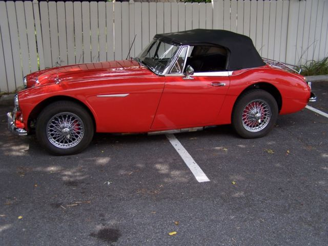 1965 austin healey 3000 mkiii bj8 phase ii colorado red. Black Bedroom Furniture Sets. Home Design Ideas