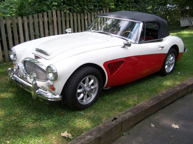 1965 austin healey 3000 mkiii with many upgrades classic austin healey 3000 1965 for sale. Black Bedroom Furniture Sets. Home Design Ideas