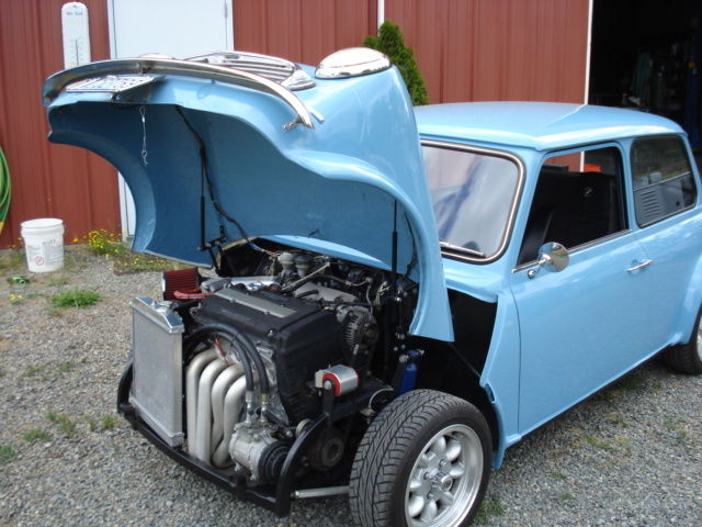 1965 austin vtec mini cooper classic classic mini classic mini 1965 for sale. Black Bedroom Furniture Sets. Home Design Ideas