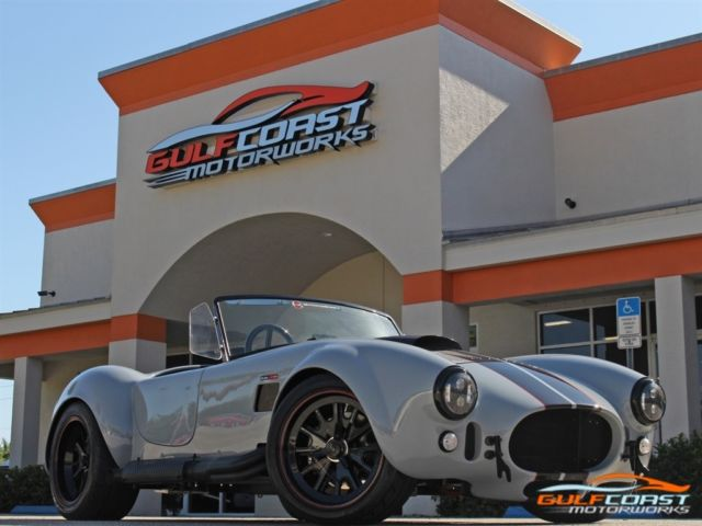 1965 Back Draft Cobra Blackout Edition 200 miles 5 0 Coyote Motor