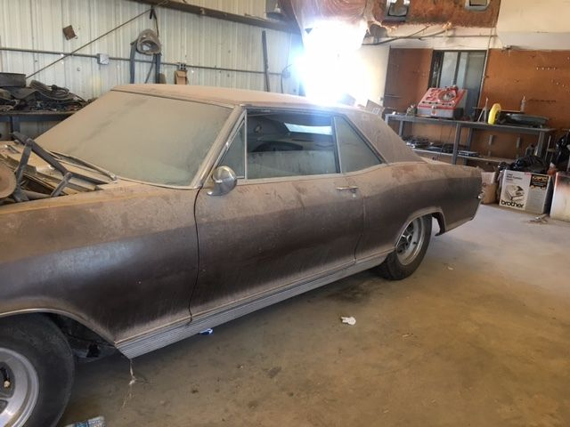 1965 Buick Riviera 2 Door Coupe Nailhead 401 Project Car Classic Buick Riviera 1965 For Sale