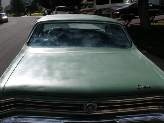 Cars For Sale In Colorado >> 1965 Buick Skylark 355 Wildcat Nailhead engine Sedan 4 ...