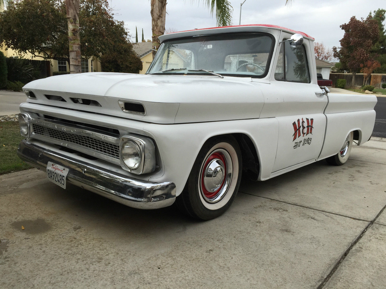 1965 C10 Short Bed Patina Shop Truck Classic Chevrolet C