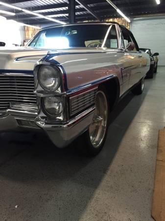 1965 Cadilac Deville Convertible Classic Cadillac Deville 1965 For