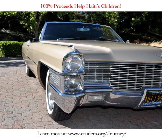 1965 Cadillac Convertible Driven & Signed By Rock Band