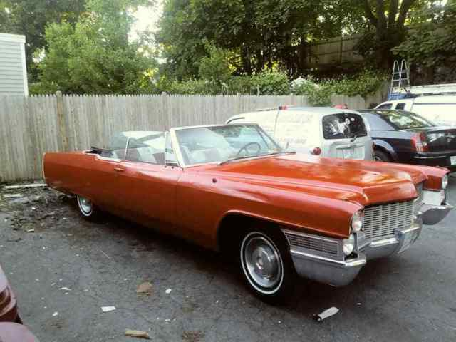 1965 Cadillac Convertible In Storage 45 Years Price Drop Barn Find