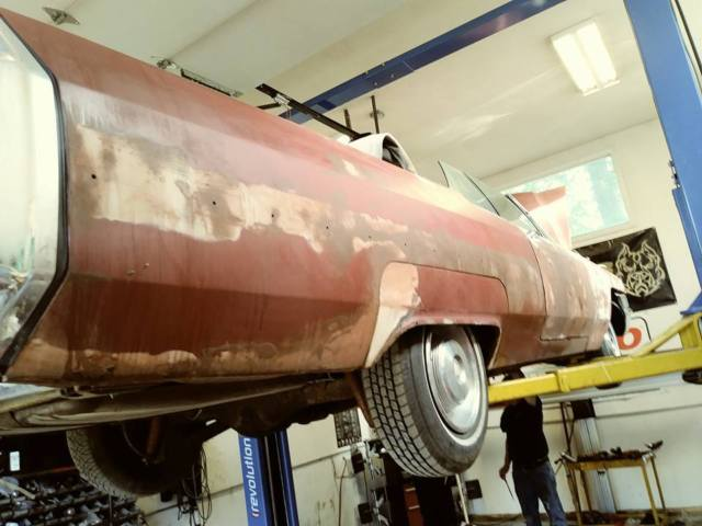 Cadillac Convertible In Storage Years Price Drop Barn Last Chance on 2000 Cadillac Deville Alternator Location