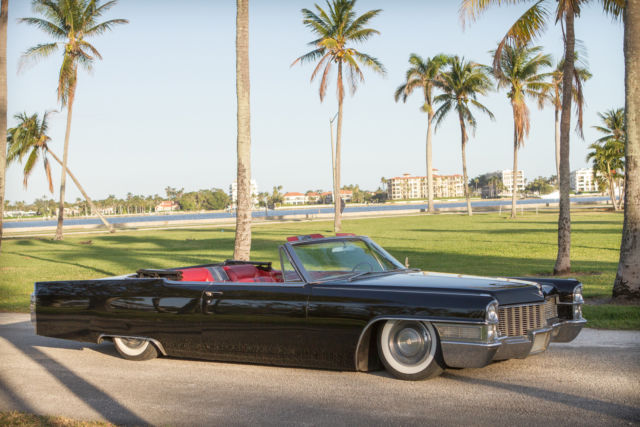 1965 Cadillac Deville Convertible Air Ride Coupe Bagged Custom