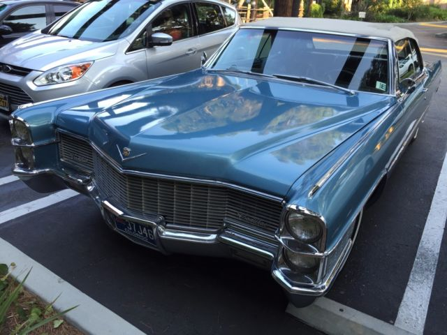 1965 CADILLAC DEVILLE CONVERTIBLE CALIFORNIA CAR - Classic ...