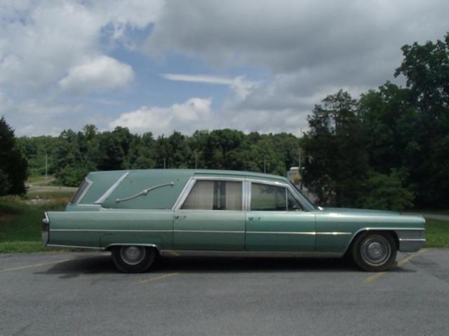 1965 Cadillac Fleetwood Ambulance Funeral Hearse Limo Body