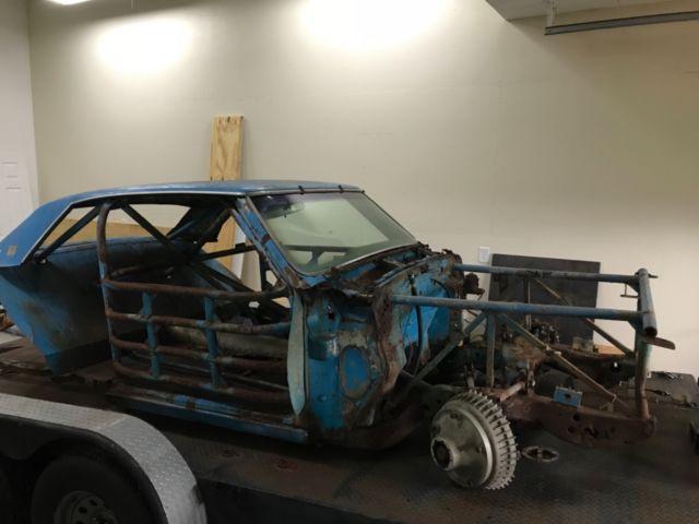 1965 Chevelle Ss Vintage Stock Race Car Chevrolet Nascar
