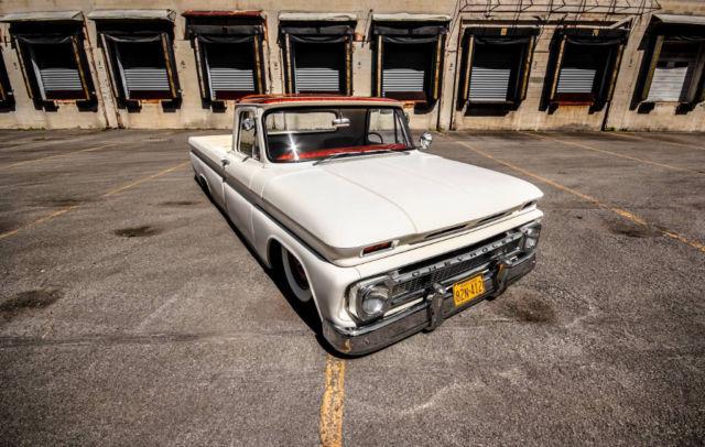 1965 Chevrolet C10 974 Miles White 350 3 Speed Classic